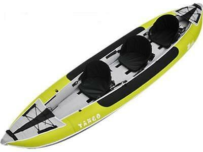 Zpro Tango 300 inflatable Kayak Three Person