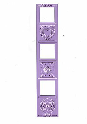 Pink Embroidery Stencil - Quadrant QS4704 by Marianne Design
