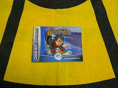 Nintendo Game Boy Advance - Manuale Di Istruzioni Harry Potter - Ita