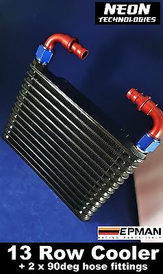 Oil Cooler with Fittings **13 Row** Universal Engine / Transmission / Rear Diff