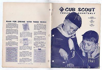 BSA Cub Scout Program Quarterly BSA Spring 1961 model Railroaders trains