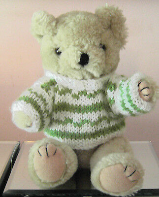 Teddy Bears Clothes. New hand knitted fairisle jumper to suit an 8 inch bear