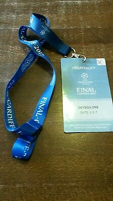 VIP Pass  CL Finale 2017 Real Madrid - Juventus Turin