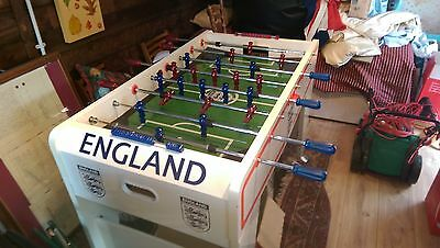 Table Football with England Colours