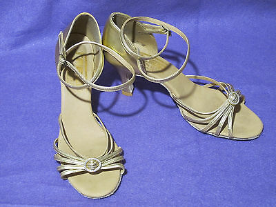 Leather Freed Diamond ballroom/latin dance shoes - size 7 (UK 6)
