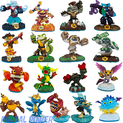 Skylanders Swap Force Figures | Swappable, LightCore, Magic, Legendary, Dark