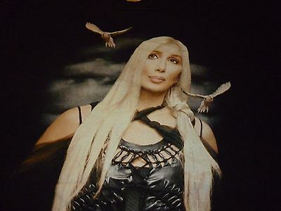 Cher 2002 Tour Shirt ( Used Size XL ) Very Good Condition!!!
