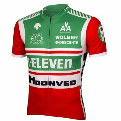 7 ELEVEN 11 Cycling Jersey Ropa Ciclismo