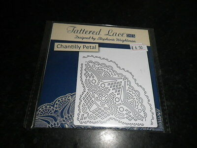 Tattered Lace Chantilly Petal  die