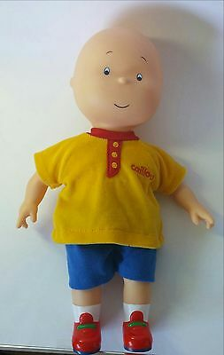 """Caillou Plush Doll With Soft Body & Plastic Head, Arms and legs 14"""""""