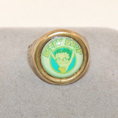 Betty Boop adjustable Metal ring (12441)