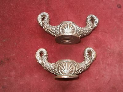 Vintage decorative cast iron wing nuts
