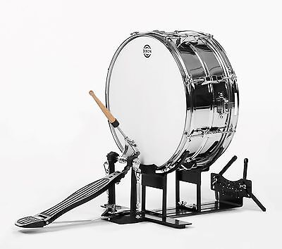Complete Foot Operated Snare Drum Kit