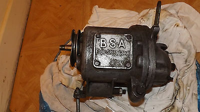 BSA gearbox four speed 15-4117, Price cut, was 290 Pounds