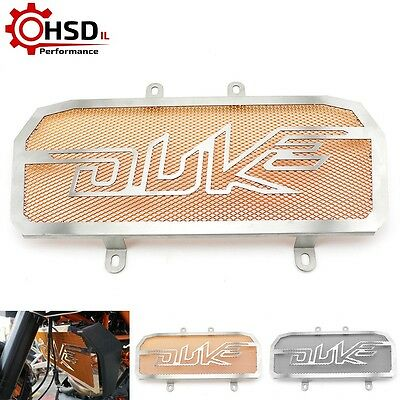 Stainless Steel Radiator Guard Protector Grille Cover For KTM DUKE 390 2013-15