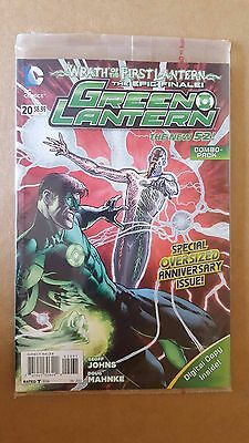 Green Lantern #20 - Combo Pack New Dcu Oversized Anniversary Issue