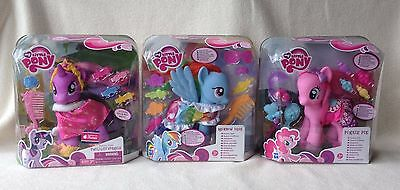 My Little Pony Fashion Style Twilight Sparkle, Rainbow Dash, Pinkie Pie G4