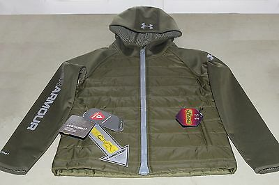 Under Armour Youth Large Boys Werewolf ColdGear Infrared Hoodie Storm1 1247016