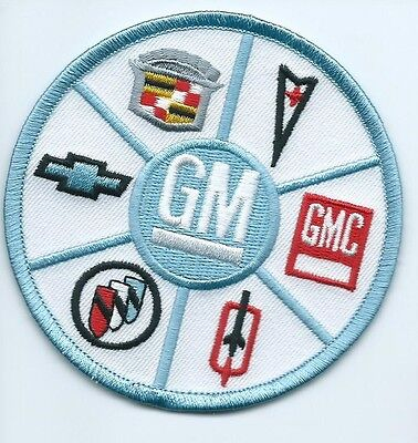 GM Olds Buick Cadillac GMC Pontiac Chevy patch 3-3/8 #1762