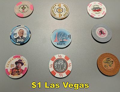 Large International Casino Chip Collection (over 1700 chips, 24% from Las Vegas)
