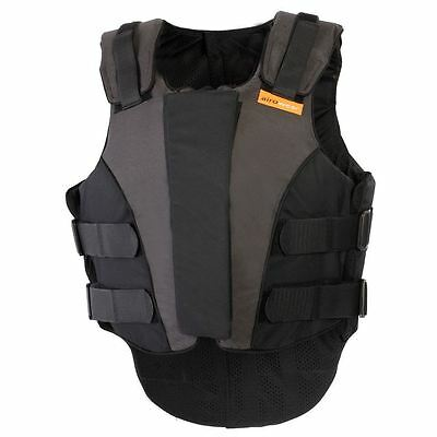 New Airowear Outlyne Ladies Body Protector - Various Sizes - Black/Graphite
