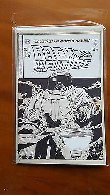 Back To The Future  #1 - Artist Edition Incentive Variant
