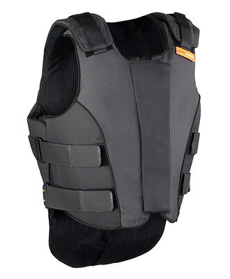 New Airowear Outlyne Teen Body Protector - Various Sizes - Black/Graphite