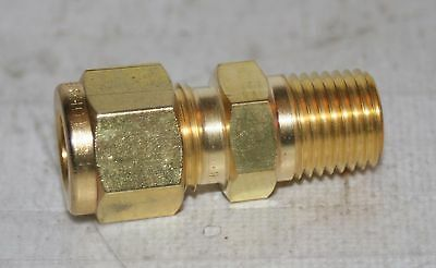 1//4 Tube x 3//8 MNPT Brass 90/° Elbow Fitting Ham-Let 769LB1//4X3//8