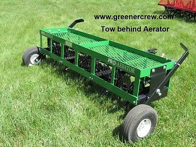 """Coring Aerator 36"""" Tow Behind for Home & Estate"""