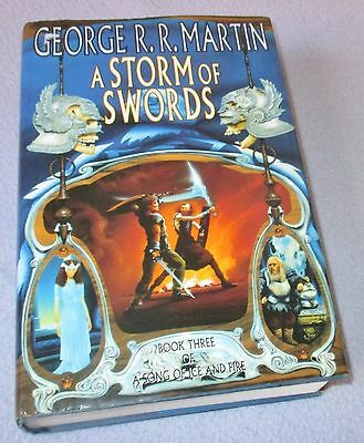 George R R Martin - A Storm Of Swords - Hb 1St