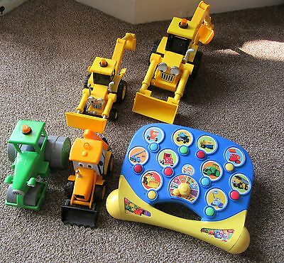 Bob the Builder Toy Bundle - Vehicles & Activity Musical Toy