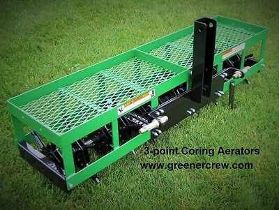 """Coring Aerator 3-Point 36"""" for Home & Estate"""