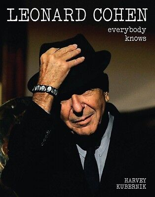 Leonard Cohen Everybody Knows Book Hardcover NEW 000126365