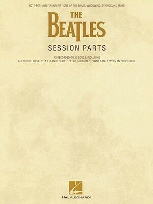 The Beatles Session Parts Note-for-Note Transcriptions of the 000121903