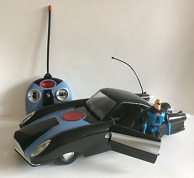 """INCREDIBLES - Syndrome 15"""" Vehicle Remote Control Toy Car Disney Pixar Toy Works"""
