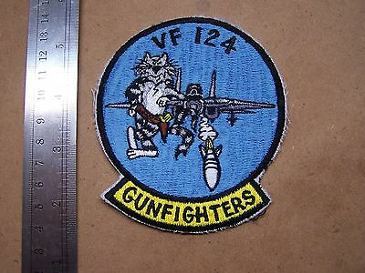 "USN VF-124 ""Gunfighters"" (F-14 Tomcat) Patch"