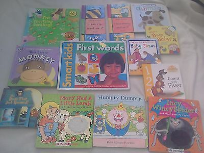 Baby Book bundle First Words, touch & feel, hardboard, counting, rhymes, bible