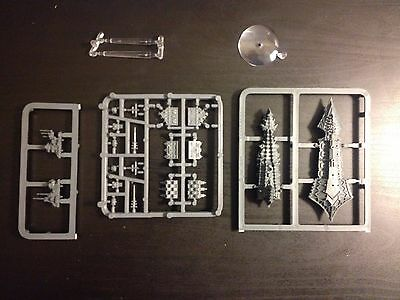 Battlefleet Gothic Plastic Chaos Cruiser- OOP New On Sprue. Rare