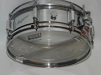 Vintage Rogers Powertone Snare Drum 5 x 14 Cleveland Low Serial #3778 COB
