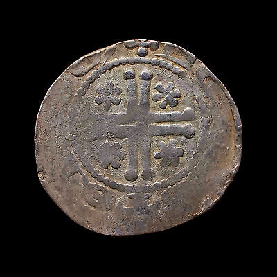 Continental Hammered Short Cross Ludolf of Holte (1227-1248) Sterling Imitation!