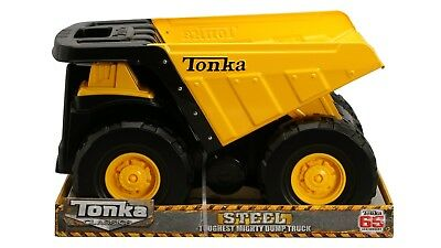 Tonka Classics Toughest Mighty Dump with  Moveable Bed Steel- Ages 3 and Up