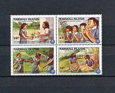 ALAD 049 MARSHALL ISLANDS Girl Scouts & Girl Guides 1986 MNH