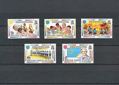 ALAD 008 BRITISH VIRGIN ISLAND  Girl Scouts & Girl Guides  MNH