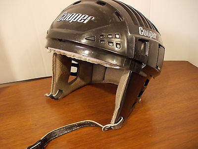 Vintage Cooper XL7 hockey helmet black 6 3/4 - 7 3/8
