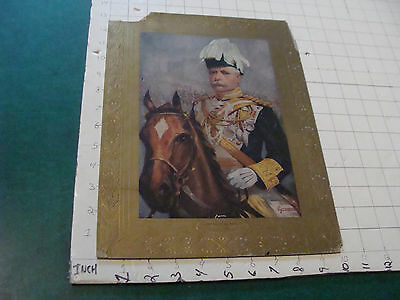 VINTAGE PRINT: SIR DOUGLAS HAIG 1901, textured print , some damage
