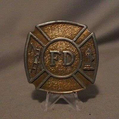 Fire Department Belt Buckle Hook and Ladder / Hydrant