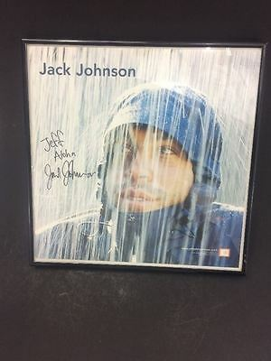 "Brushfire Fairytales Jack Johnson Autograph 13"" x 13"" Picture"