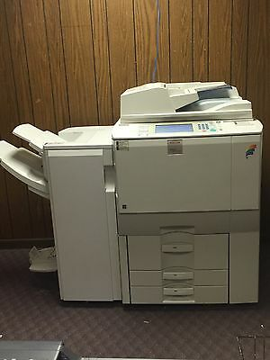 Ricoh Aficio MP C6000 Color Copier with Finishing and Network Compatibility