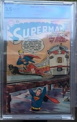 Rare Supergirl Combo, Superman #123 and Action Comics #252, Prototype, 1st App.