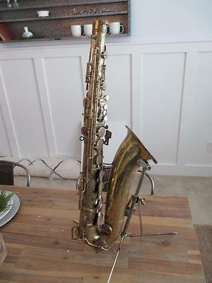 Vintage Mystery? Tenor Saxophone Body Only For Repair or Parts Conn Buescher ?